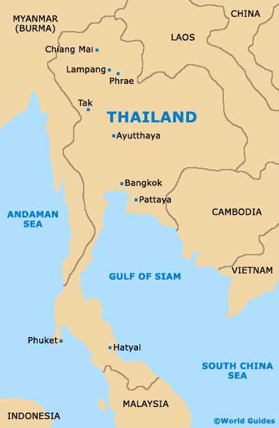 Chiang Mai Maps and Orientation: Chiang Mai Province, Thailand on