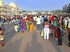 Picture of the Guinea-Bissau carnival in Bissau