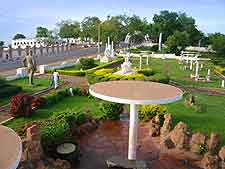 Photo of the Place des Explorateurs at Bamako in Mali