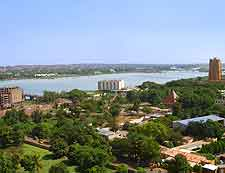 View of Bamako in Mail