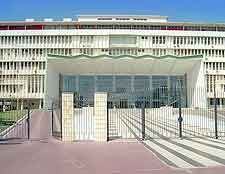 Image of the Building of Assemblée Nationale in Dakar, Senegal