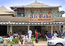 Image showing the popular Ali Baba restaurant at Kololi