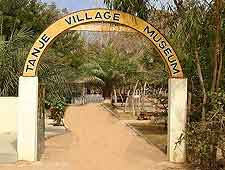 Photo showing the entrance to the Tanji Village Museum