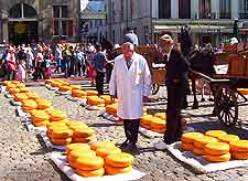 Picture showing cheese event at Gouda