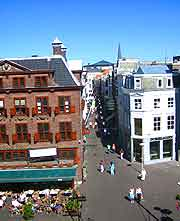Central picture from above