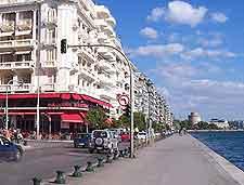 Waterfront photo of the Nikis Avenue promenade
