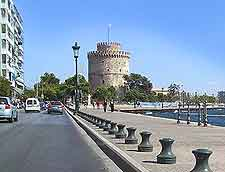 Waterfront picture, showing the famous White Tower