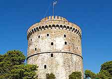 Close-up picture of the White Tower