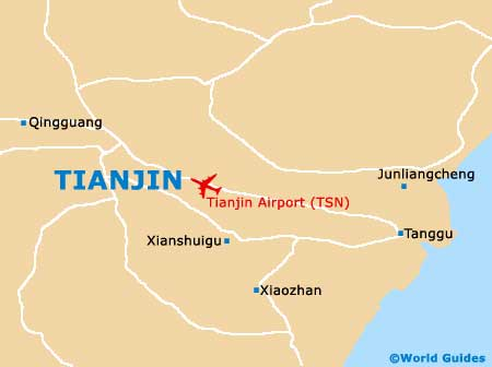 Small Tianjin Map