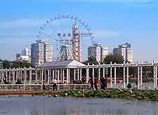 View of the city's Seaside Amusement Park