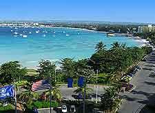 Barbados coastal panorama