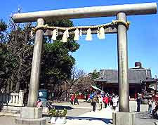 Image showing the Asakusa Shrine entrance