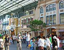 Picture of mall in the city's Disney resort