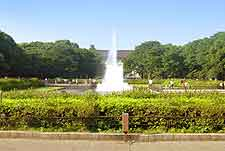 View of Ueno Park