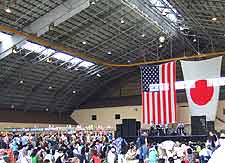 Picture of the Yokota Friendship Festival celebrations