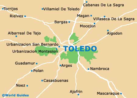 Toledo Tourist Attractions and Sightseeing Toledo CastileLa