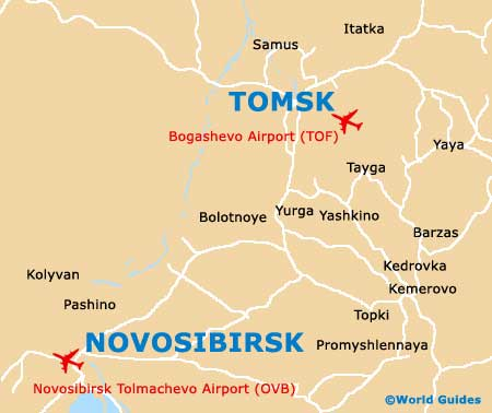 Small Tomsk Map