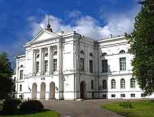 Photo of the university on the Prospekt Lenina