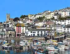 Further view of Brixham Harbour