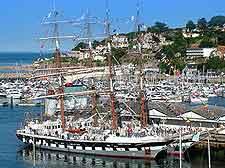 Image of the Tall Ships at the sailing regatta