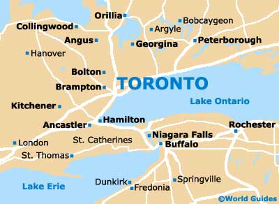 Toronto Maps and Orientation: Toronto, Ontario   ON, Canada