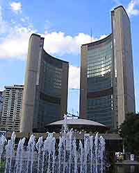 View of Toronto's New City Hall
