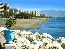 Torremolinos beach photograph
