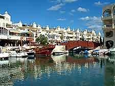 Photo of the award-winning Puerto Marina in Benalmadena Costa