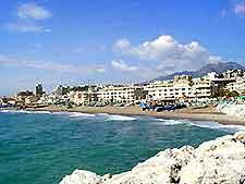 View of La Carihuela beach