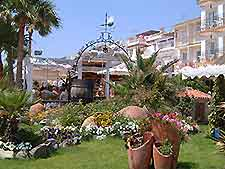 Picture of hotel gardens