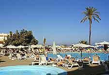 Hotel swimming pool snapshot