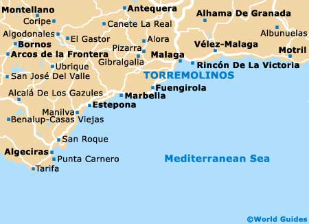 Torremolinos map