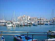 Photograph of the marina