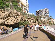 Image of the Paseo Maritimo seafront promenade
