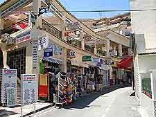 Torremolinos shopping street