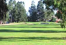 View of nearby fairway