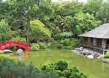 Photo of the Jardin Compans Caffarelli's Japanese Garden
