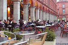 Picture of cafes on the Place du Capitole