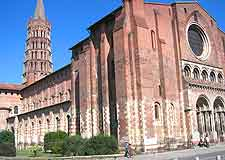 View of the Basilique St. Sernin