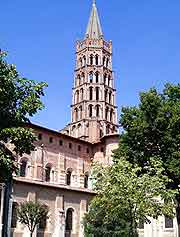 Photo showing the St. Sernin district
