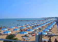 Picture of Lignano's glorious beachfront