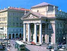 Trieste Airport (TRS) Travel, Transport and Car Parking: Picture of the city centre