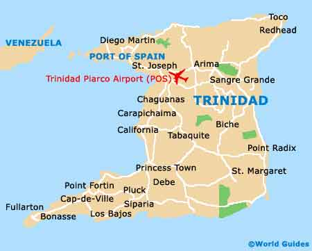Small Trinidad Map