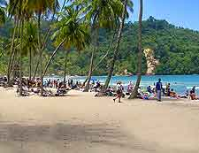 Image of the glorious Port of Spain beachfront