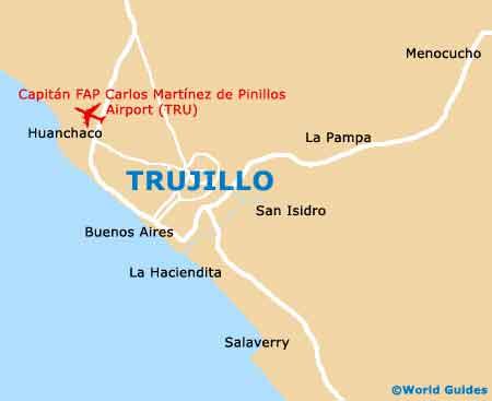 Small Trujillo Map