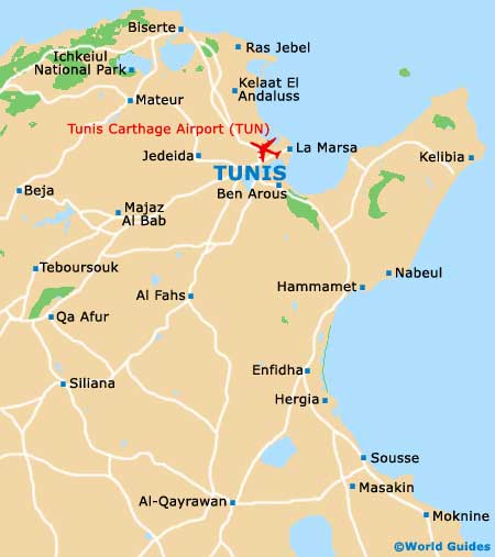 Tunisia Maps and Orientation: Tunisia, North Africa