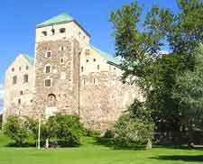 View of the historic Turku Castle