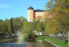 Photo of the pink castle