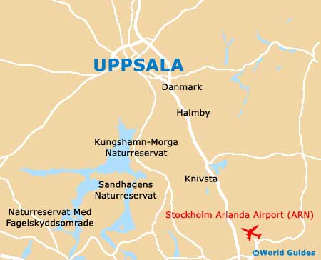 Small Uppsala Map