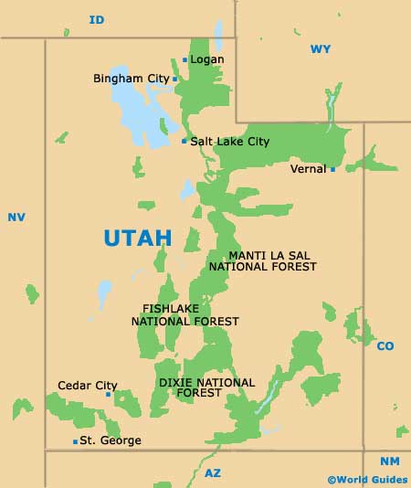 Salt Lake City Maps and Orientation: Salt Lake City, Utah - UT, USA
